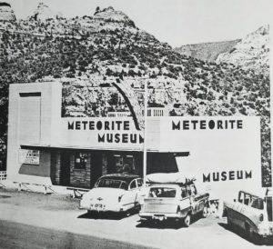 Segundo prédio que abrigou o American Meteorite Museum na cidade de Sedona. Fonte: Livro Find a Falling Star de Harvey Nininger